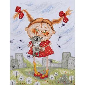 Нашлись по рисунку Кирдий Набор для вышивания Марья Искусница