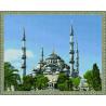 Стамбул. Голубая мечеть Алмазная мозаика вышивка на подрамнике Molly KM0149