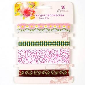 Весенний набор Ленты для скрапбукинга, кардмейкинга Рукоделие