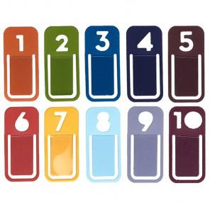 Цифры Украшения-скрепки для скрапбукинга, кардмейкинга K&Company
