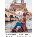 Количество цветов и сложность Новости Парижа Раскраска картина по номерам на холсте PK30067