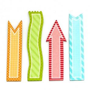 Стикеры-закладки Smash ( Смэш ) для скрапбукинга K&Company
