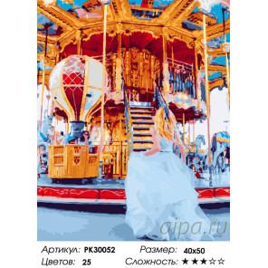 Количество цветов и сложность Краски ярмарки Раскраска картина по номерам на холсте PK30052