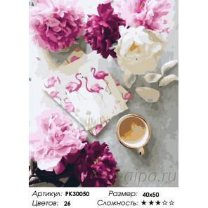 Количество цветов и сложность Утренние послания Раскраска картина по номерам на холсте PK30050