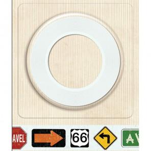 Дорожные знаки Бумажная лента для скрапбукинга, кардмейкинга K&Company