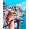 Полдень на берегу Греции Раскраска картина по номерам на холсте PK30080