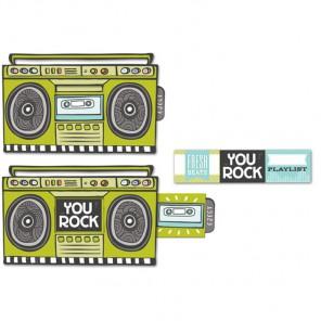 Магнитофон Украшение-слайдер Smash ( Смэш ) для скрапбукинга K&Company