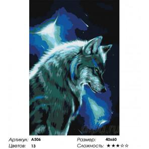 Сложность и количество цветов Мысли вожака Раскраска картина по номерам на холсте A506