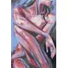 Девушка Раскраска картина по номерам на холсте PA164