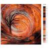 Раскладка Поздней осенью Раскраска картина по номерам на холсте KTMK-54156