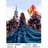 Праздничная Москва Раскраска картина по номерам на холсте