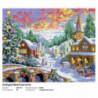 Рождественская ночь Алмазная вышивка (мозаика) Белоснежка