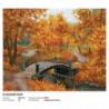 Осенний парк Алмазная вышивка (мозаика) Белоснежка