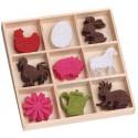 Домашние животные Набор из фетра декоративные элементы для скрапбукинга, кардмейкинга cArt-Us