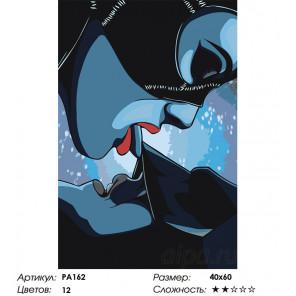 Сложность и количество цветов Женщина-кошка Раскраска картина по номерам на холсте PA162