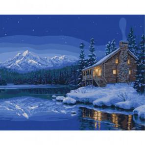 Тихий привал Quiet Camp Раскраска картина по номерам Plaid