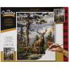 Внешний вид коробки Гордые олени Standing Proud Раскраска картина по номерам Plaid