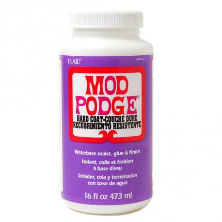 Твердое покрытие Hard Coat Клей лак для декупажа Mod Podge Plaid