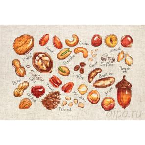 Орехи и семена Набор для вышивания Luca-S B1165