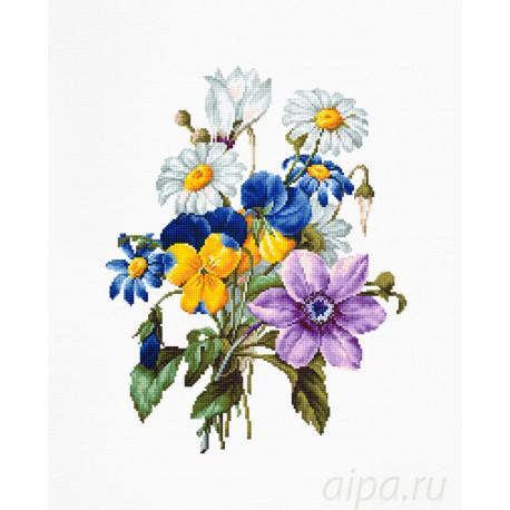 Букет цветов Набор для вышивания Luca-S B2348