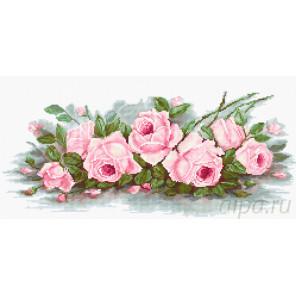 Романтические розы Набор для вышивания Luca-S B2353