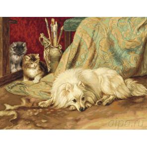 Собака и кошки Набор для вышивания Luca-S B582