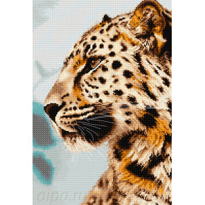 Леопард Набор для вышивания Luca-S BU4006