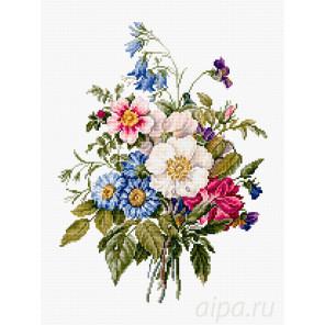 Букет летних цветов Набор для вышивания Luca-S BU4004