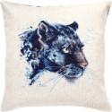 Пантера Набор для вышивания подушки Luca-S