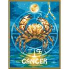 Рак (Знаки Зодиака) Раскраска картина по номерам акриловыми красками Schipper (Германия)