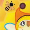 крупно Бабушка пчела Набор для вышивания Риолис 0055РТ
