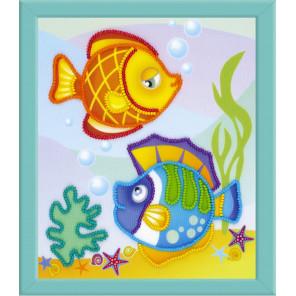 Морские рыбки Набор для вышивания Риолис 0062РТ