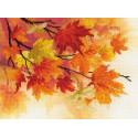 Краски осени Набор для вышивания Риолис 0054РТ