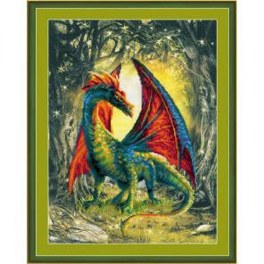 Лесной дракон Набор для вышивания Риолис