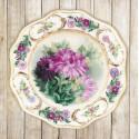 Тарелка с хризантемами Набор для вышивки гладью Риолис 0076РТ