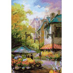 Цветочная улица Набор для вышивания Риолис 1306