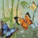 Бабочки Набор для вышивания Риолис
