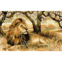 Царь зверей Набор для вышивания Риолис