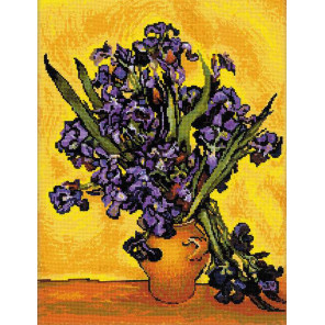 Ирисы. Ван Гог Набор для вышивания Риолис 1087