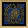 В рамке Лев Набор для вышивания Риолис 1205
