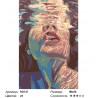 Сложность и количество цветов Под водой Раскраска картина по номерам на холсте RO121