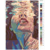 Раскладка Под водой Раскраска картина по номерам на холсте RO121