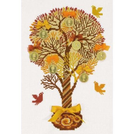 Денежное дерево Набор для вышивания Риолис 1294