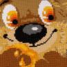 2_2 Медвежонок Набор для вышивания подушки Риолис