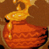 3_2 Медвежонок Набор для вышивания подушки Риолис