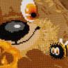 4_2 Медвежонок Набор для вышивания подушки Риолис