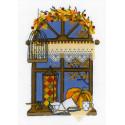 Осеннее окошко Набор для вышивания Риолис