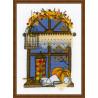 В рамке Осеннее окошко Набор для вышивания Риолис 1593