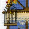 2_2 Осеннее окошко Набор для вышивания Риолис