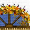 4_2 Осеннее окошко Набор для вышивания Риолис
